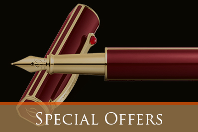 Wij hebben ook speciale aanbiedingen voor een luxe vulpen, luxe balpen of luxe rollerbal
