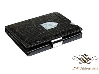 Exentri Wallet Caiman Zwart