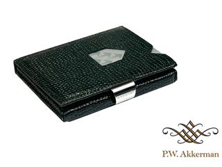 Exentri Wallet Mozaiek Zwart