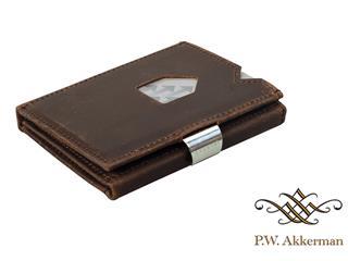 Exentri Wallet Nubuck Bruin