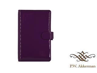 Filofax Compact Patent Purple Organiser