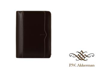 Filofax Personal Cuban Zip Saddle Brown