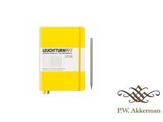 Leuchtturm Weekly Planner & Notebook 2018 Yellow