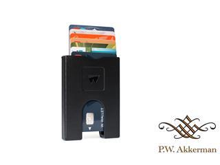 Walter Wallet Pashouder Way Black