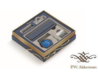 Waterman Expert Deluxe Black CT Giftset Vulpen met Penetui en Inkt