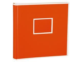 Semikolon Foto Album 100 Pagina's Oranje