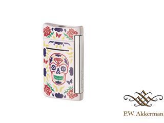 ST Dupont MiniJet White Skull Aansteker