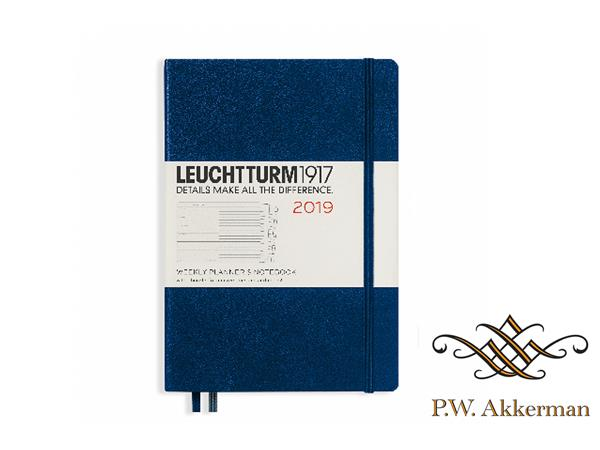Leuchtturm Wekelijkse Agenda 2019 A5 Donker Blauw