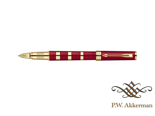 Parker 5th Ingenuity Red Rubber and Metal GT