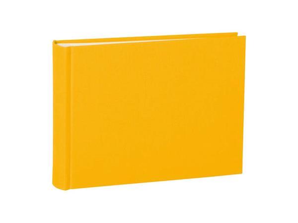 Semikolon fotoalbum small classic handgemaakt geel