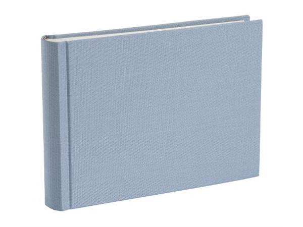 Semikolon fotoalbum small classic handgemaakt lichtblauw