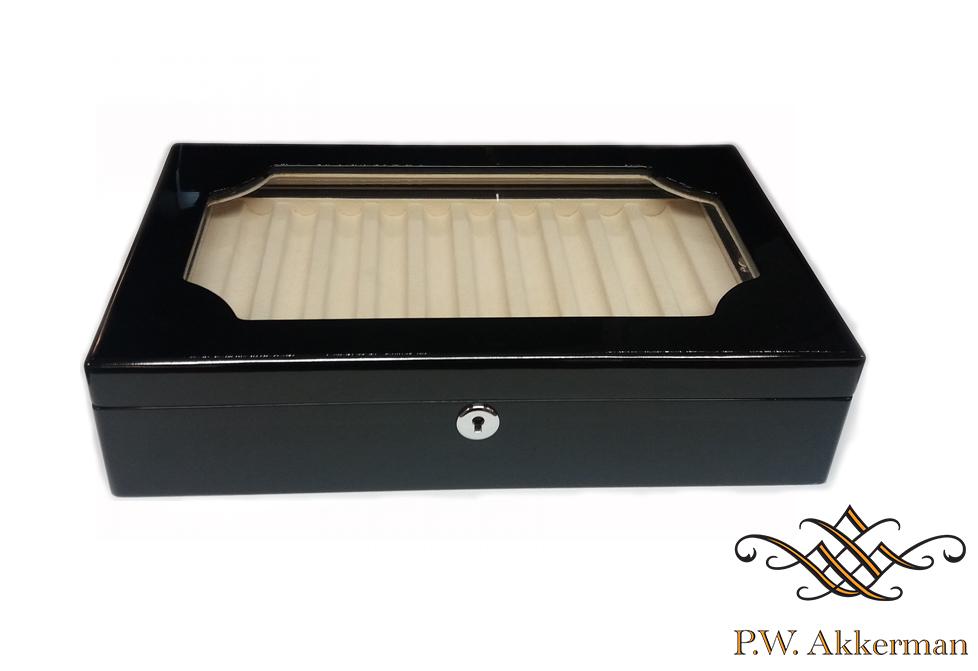 Ferocase Piano Lak Zwart (20 pennen)