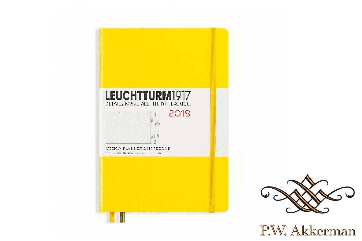 Leuchtturm Wekelijkse Agenda 2019 A5 Lemon Geel