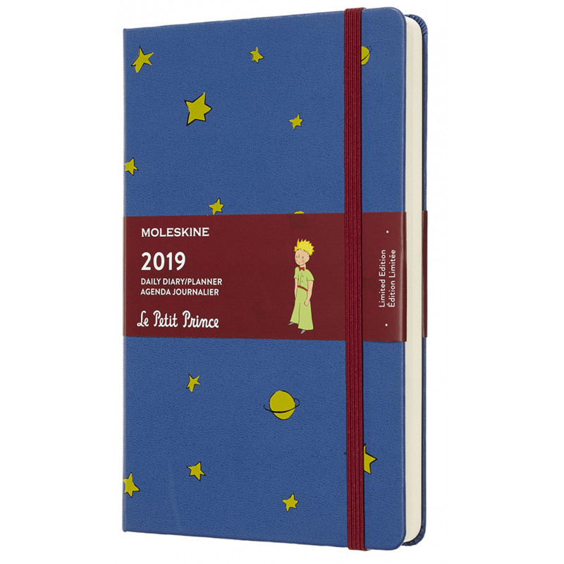 Moleskine agenda 2019 1 dag p.p. large le petit prince