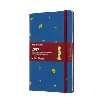 Moleskine agenda 2019 weekly/note large hardcover Le petit Prince